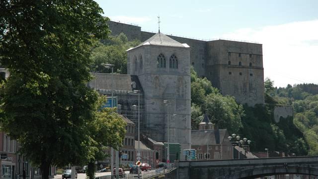 Collégiale, Fort et Pont Roi Baudouin