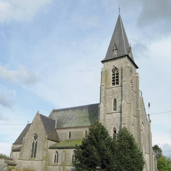 Eglise Saint-Martin à Darion