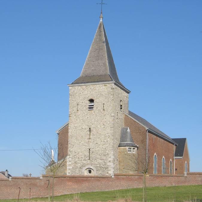 Eglise Saint-Hadelin à Lamine