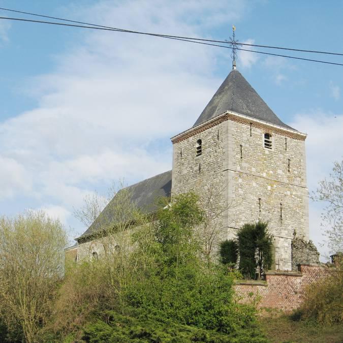 Eglise Saint-Hubert à Lens-sur-Geer